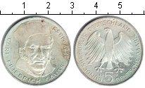 Изображение Монеты ФРГ 5 марок 1977 Серебро XF 200 лет со дня рожде