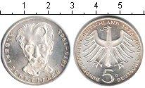 Изображение Монеты ФРГ 5 марок 1975 Серебро Proof-