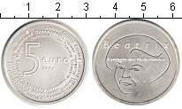 Изображение Мелочь Нидерланды 5 евро 2004 Серебро UNC-