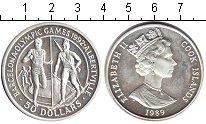 Изображение Монеты Острова Кука 50 долларов 1989 Серебро Proof-