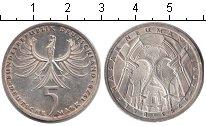 Изображение Монеты ФРГ 5 марок 1978 Серебро XF Балтазар Нойманн.