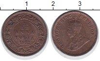 Изображение Монеты Индия 1/12 анны 1932 Медь XF Георг V
