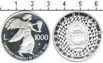 Изображение Монеты Сан-Марино 1000 лир 1990 Серебро Proof