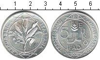 Изображение Монеты Италия 5 евро 2008 Серебро UNC 30-летие Международн