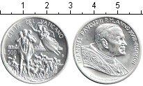 Изображение Монеты Ватикан 500 лир 1996 Серебро XF