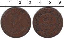 Изображение Монеты Австралия 1 пенни 1923 Медь XF Георг V