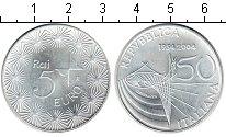 Изображение Монеты Италия 5 евро 2004 Серебро UNC 50-летие телевидения