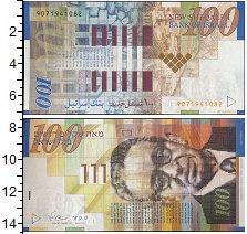 Изображение Банкноты Израиль 100 шекелей 0  UNC-