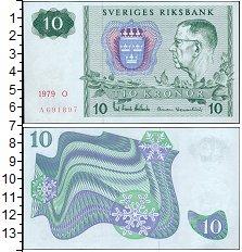 Изображение Банкноты Швеция 10 крон 1979  UNC