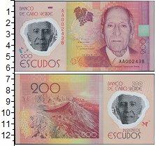 Изображение Банкноты Кабо-Верде 200 эскудо 2014  UNC-