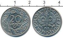 Изображение Мелочь Польша 20 грошей 1923 Медно-никель XF