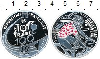 Изображение Монеты Франция 10 евро 2013 Серебро Proof- Велоспорт