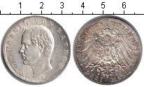 Изображение Монеты Бавария 3 марки 1912 Серебро XF