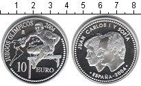Изображение Монеты Испания 10 евро 2004 Серебро Proof XXVIII летние Олимпи