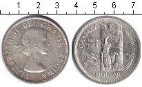 Изображение Монеты Канада 1 доллар 1958 Серебро XF