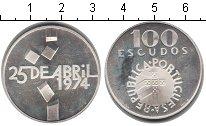 Изображение Монеты Португалия 100 эскудо 1974 Серебро