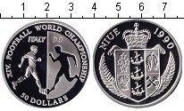 Изображение Монеты Ниуэ 50 долларов 1990 Серебро Proof Чемпионат мира по фу