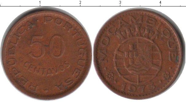 Картинка Монеты Мозамбик 50 сентаво Медь 1973