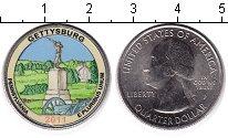 Изображение Цветные монеты США 1/4 доллара 2011 Медно-никель UNC Национальный парк Ге