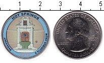 Изображение Цветные монеты США 1/4 доллара 2010 Медно-никель UNC- Национальный парк Хо