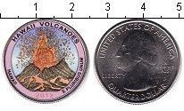 Изображение Цветные монеты США 1/4 доллара 2012 Медно-никель UNC- Национальный парк Га