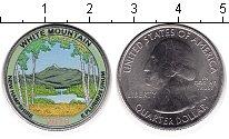 Изображение Цветные монеты США 1/4 доллара 2013 Медно-никель UNC Национальный лес Бел