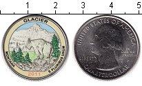 Изображение Цветные монеты США 1/4 доллара 2011 Медно-никель UNC Национальный парк Гл