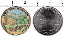 Изображение Цветные монеты США 1/4 доллара 2014 Медно-никель UNC Национальный парк Гр