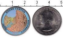 Изображение Цветные монеты США 1/4 доллара 2010 Медно-никель UNC Национальный парк Гр