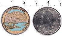 Изображение Цветные монеты США 1/4 доллара 2014 Медно-никель UNC
