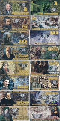 Изображение Банкноты Колумбия 886 драгонес 2013  UNC-