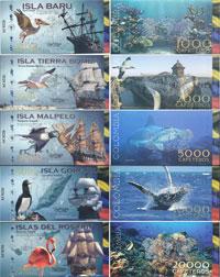 Изображение Банкноты Колумбия 38000 кафетерос 0  UNC-