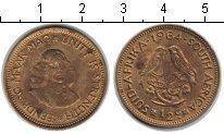 Изображение Монеты ЮАР 1/2 цента 1964  XF