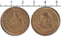 Изображение Монеты ЮАР 1/2 цента 1964 Медь XF
