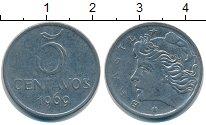 Изображение Барахолка Бразилия 5 сентаво 1969 Железо VF