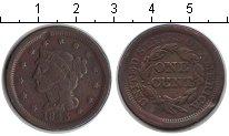 Изображение Монеты США 1 цент 1843 Медь VF