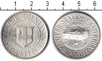 Изображение Монеты США 1/2 доллара 1936 Серебро XF Округ Йорк.