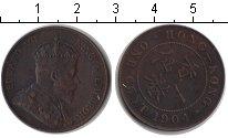 Изображение Монеты Гонконг 1 цент 1904 Медь XF