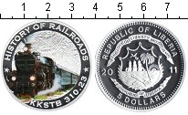 Изображение Монеты Либерия 5 долларов 2011 Серебро Proof