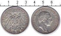 Изображение Монеты Саксония 3 марки 1911 Серебро XF Фридрих Август