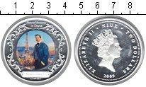 Изображение Монеты Ниуэ 2 доллара 2009 Серебро Proof- Елизавета II