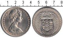 Изображение Монеты Новая Зеландия 1 доллар 1967 Медно-никель UNC- Елизавета II.