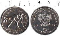 Изображение Мелочь Польша 2 злотых 1995 Медно-никель UNC- Олимпийские игры в А