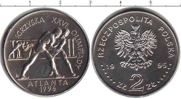 Картинка Мелочь Польша 2 злотых Медно-никель 1995