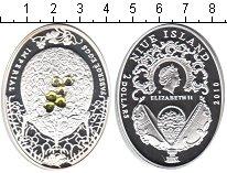 Изображение Монеты Ниуэ 2 доллара 2010 Серебро Proof- Фаберже