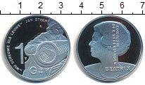 Изображение Мелочь Нидерланды 10 гульденов 1996 Серебро Proof-