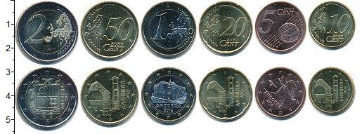 Изображение Наборы монет Андорра Андорра 2014 2014  UNC