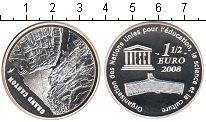 Изображение Монеты Франция 1 1/2 евро 2008 Серебро Proof Гранд Каньон.