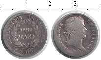 Изображение Монеты Франция 1/2 франка 1808 Серебро