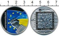 Изображение Мелочь Украина 5 гривен 2015 Медно-никель Proof Товар продается искл